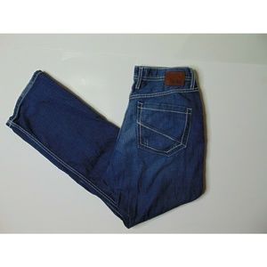 BKE 33 X 30 Tyler Straight Blue Jeans Denim Cotton